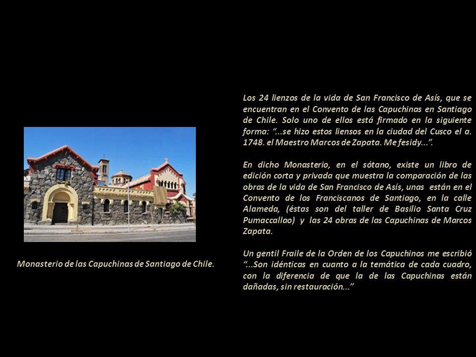Gracias a la colaboración de la Licenciada Elizabeth Kuon Arce y a su Tesis Pintura Cuzqueña- Presentación de la obra de Marcos Zapata Universidad Nac