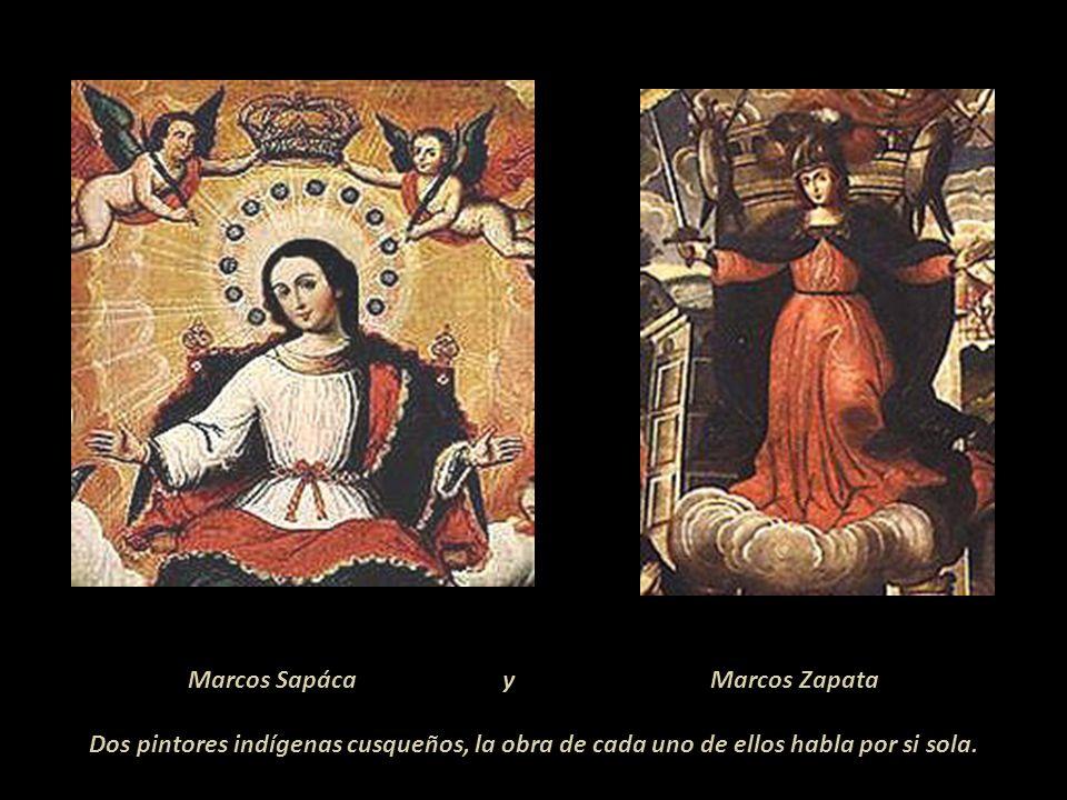 En la Iglesia de la Iglesia de la Compañía del Cusco, se encuentran los lienzos murales de la vida de San Ignacio de Loyola. En uno de ellos se lee: s