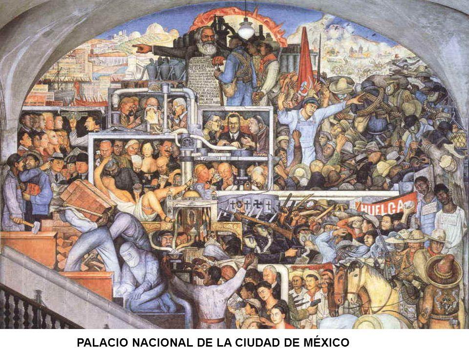 PALACIO NACIONAL DE LA CIUDAD DE MÉXICO