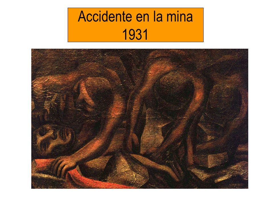 Accidente en la mina 1931