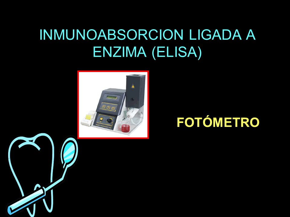 INMUNOABSORCION LIGADA A ENZIMA (ELISA) FOTÓMETRO
