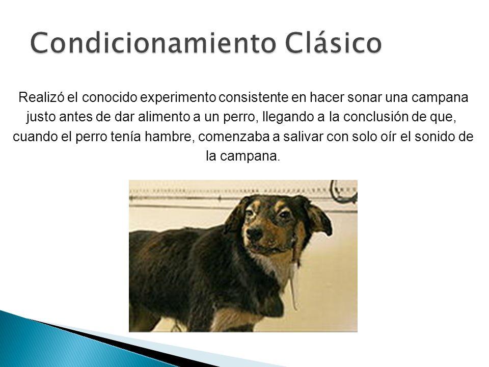 Procedimiento para las pruebas de condicionamiento: 1.