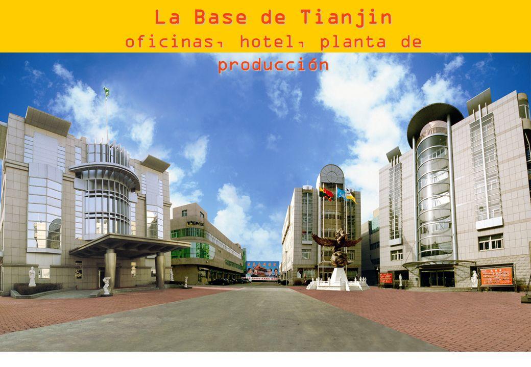 La Base de Tianjin oficinas, hotel, planta de producción