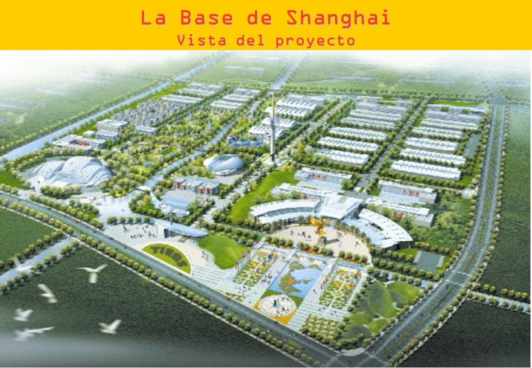 La Base de Shanghai Vista del proyecto