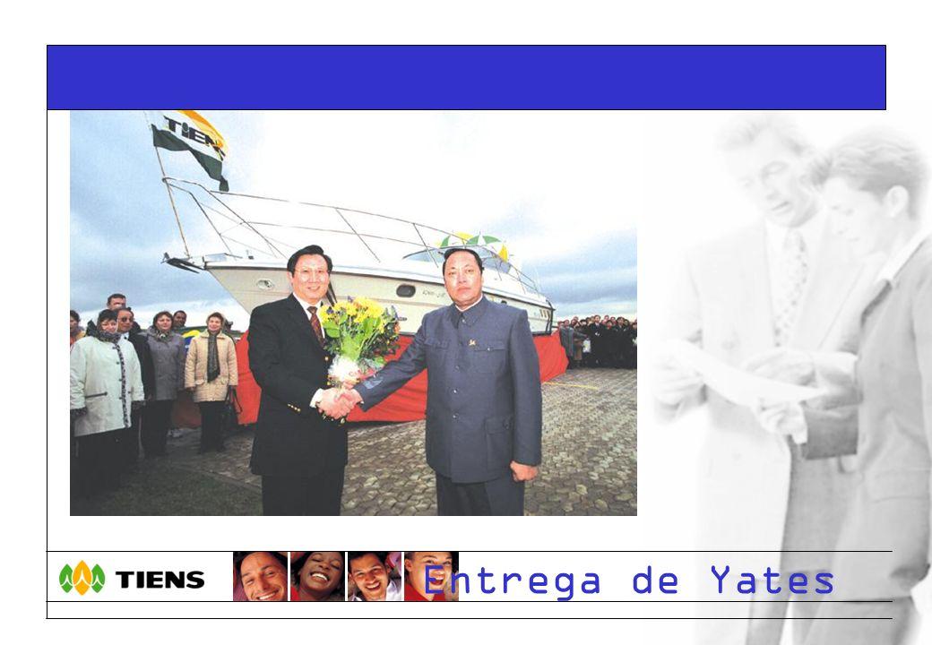 Entrega de Yates