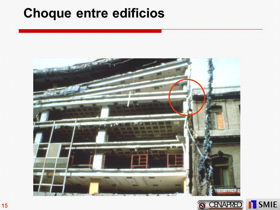 SMIE 15 Choque entre edificios