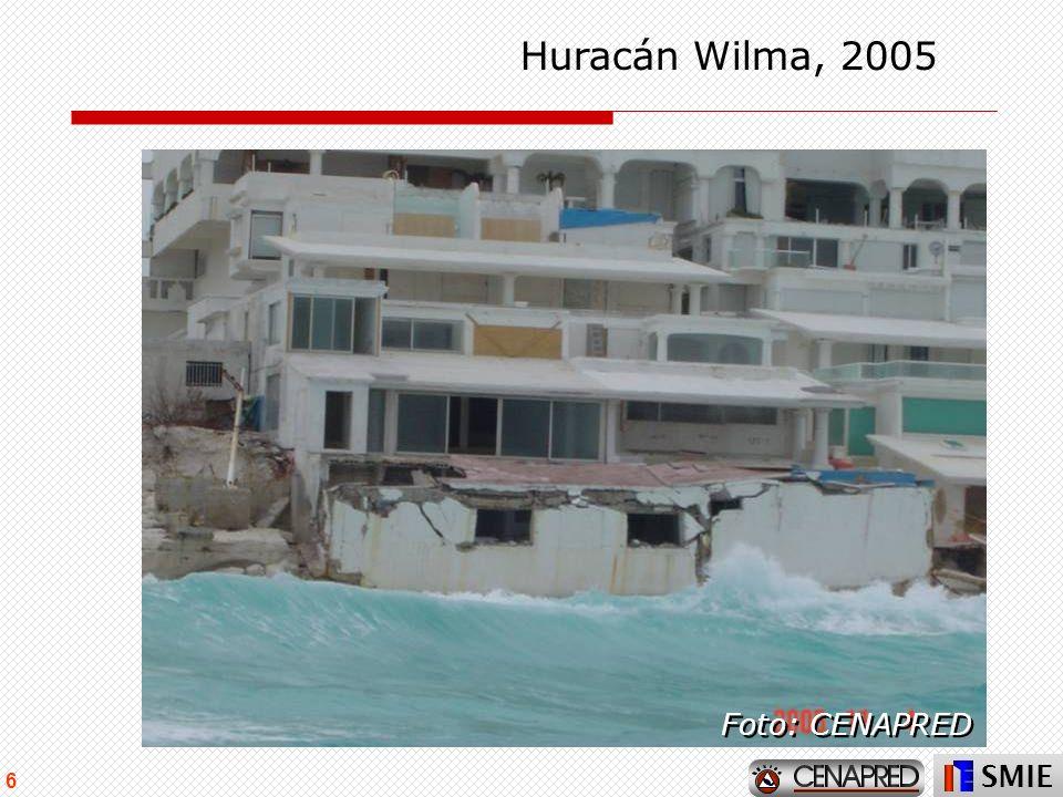 SMIE 6 Huracán Wilma, 2005 Foto: CENAPRED