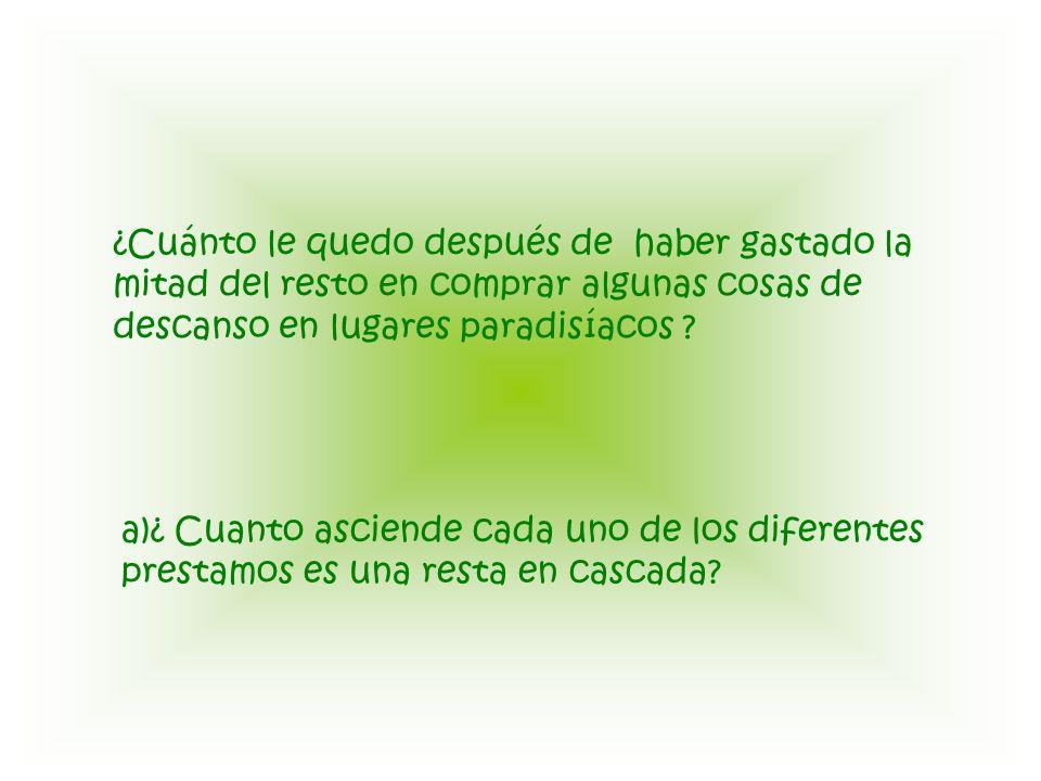 nombreCantidad prestada Cantidad restante de Pitoitoy Pelos14912257509258.75 El Trenzas?.