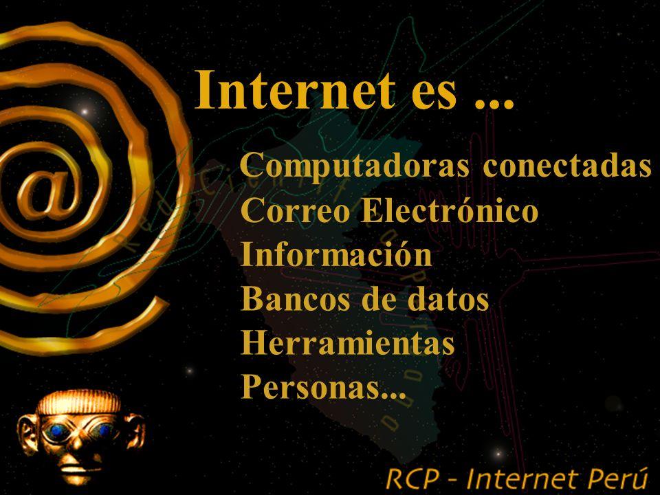 INTERNET..... Conceptos Generales