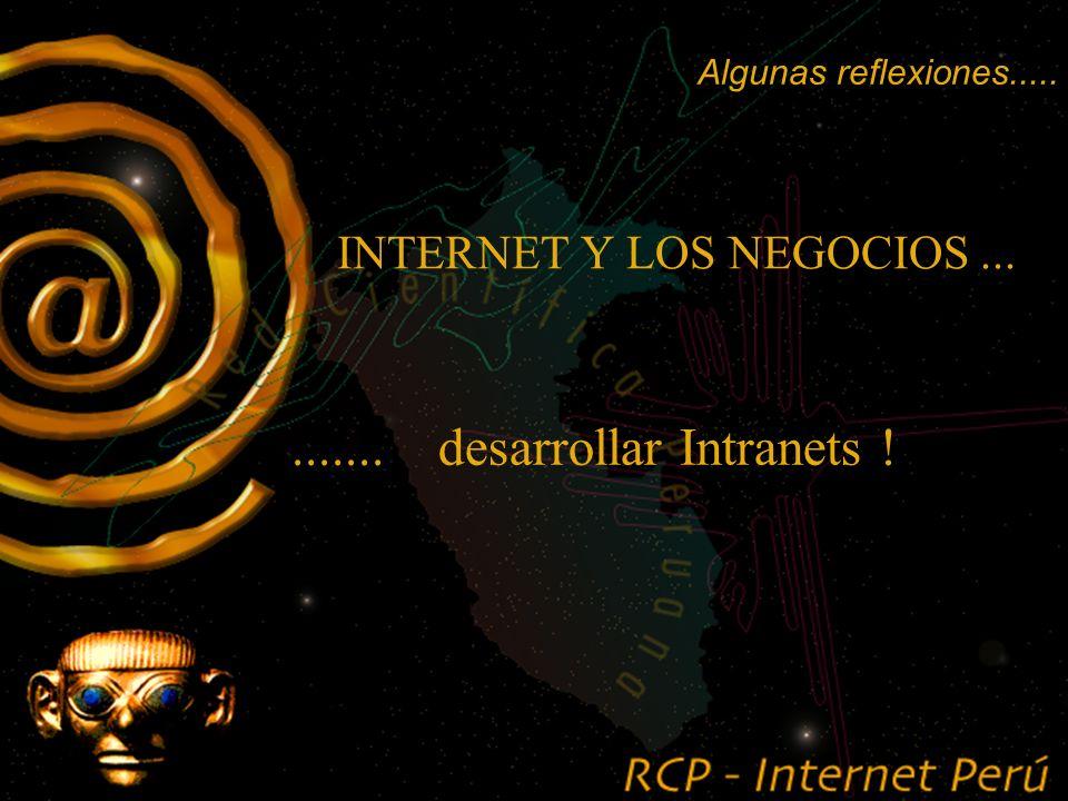 INTERNET Y LOS NEGOCIOS...