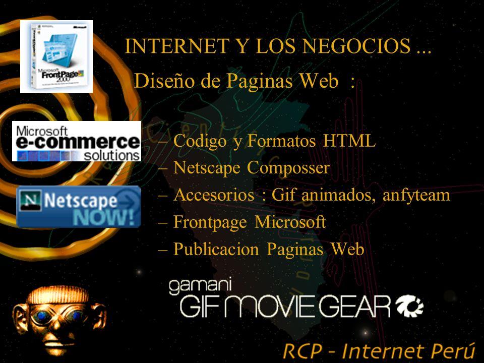 .... Usando Internet me podré comunicar sólo con mis clientes y proveedores que usan Internet.