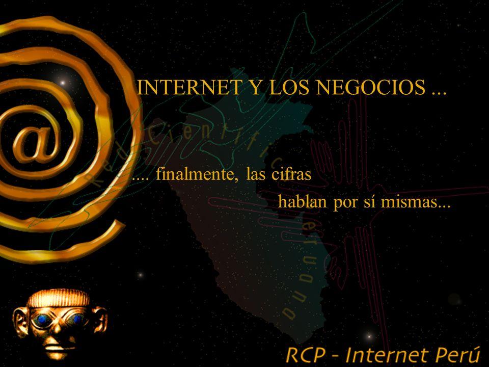 .... Internet y sus aplicaciones ya están al alcance de cualquier empresa. INTERNET Y LOS NEGOCIOS... Algunas reflexiones.....