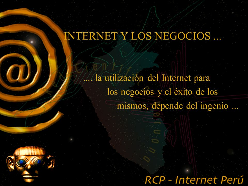 ISOC? Internet !! La información que existe en Internet es proporcionada por sus mismos usuarios Internet no existe como institución No tiene dueño ni