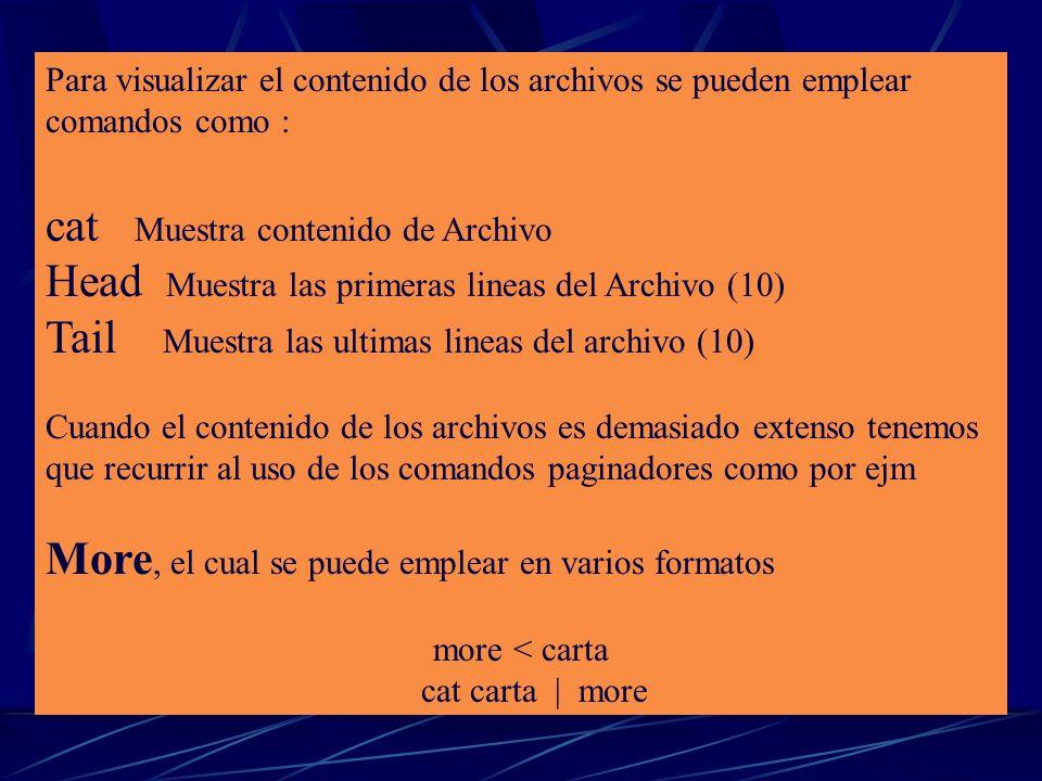 Comando ls Muestra el directorio de la ruta actual en otras palabras muestra los archivos o carpetas contenidos en la direccion actual, y otra de sus