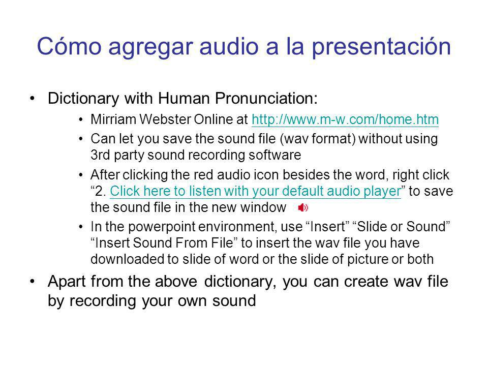 Cómo agregar imágenes a la presentación Google (http://www.google.com) provides a large database of image files that can be searched by keyword. Click