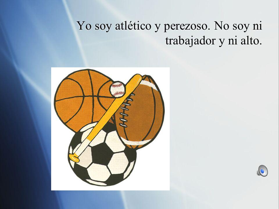 Me gusta practicar deportes y jugar videojuegos. No me gusta ni cantar y ni correr.