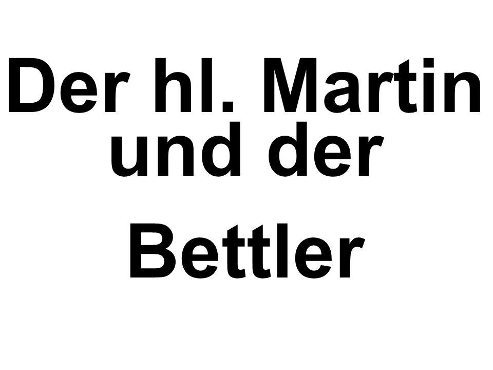 Der hl. Martin und der Bettler
