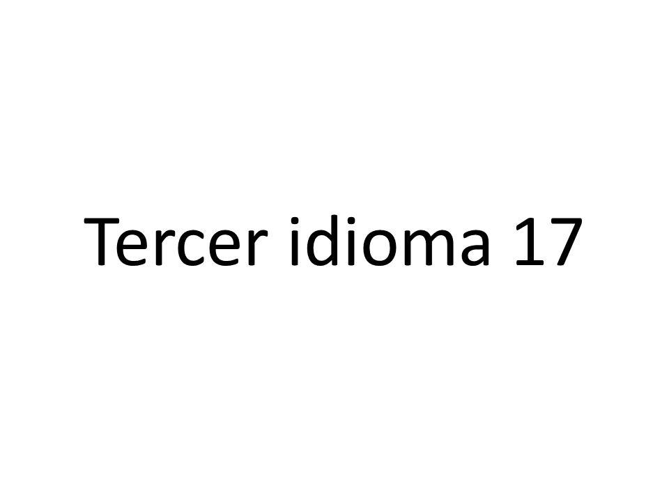 Segundo idioma 17