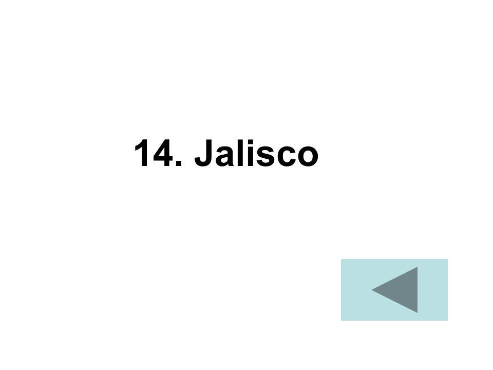 14. Jalisco
