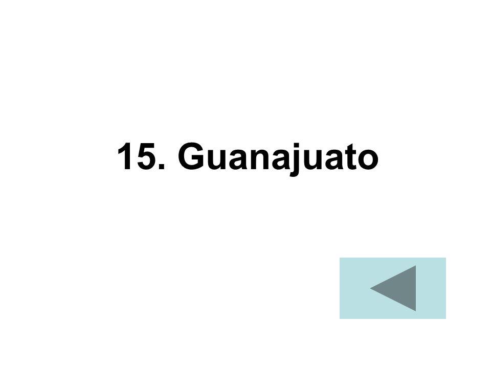 15. Guanajuato