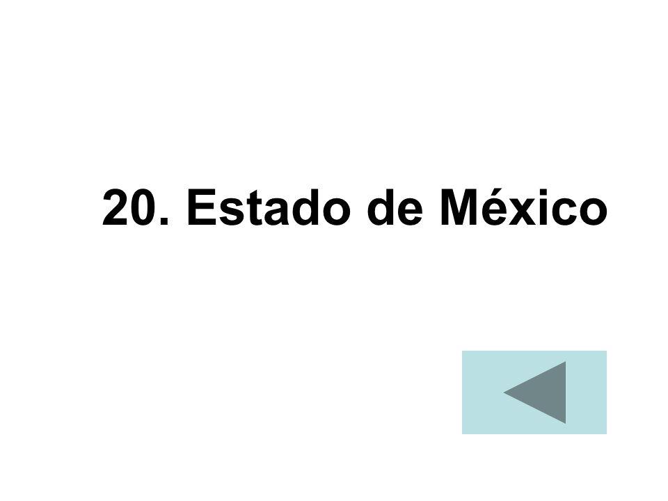 20. Estado de México