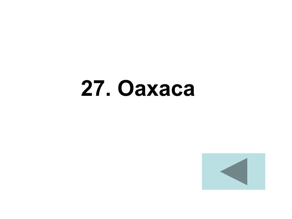 27. Oaxaca