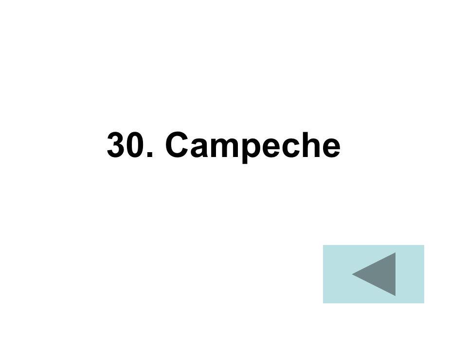 30. Campeche