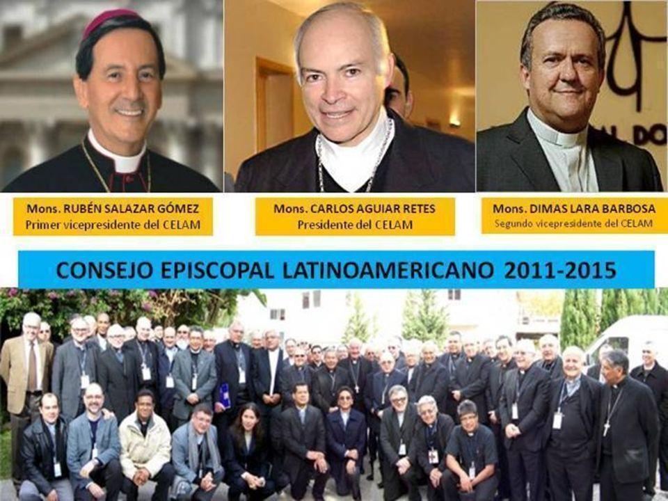 PRESIDENCIA DEL CELAM 2011-2015