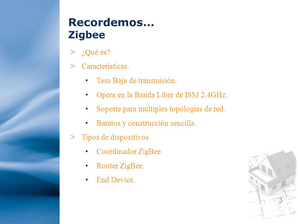 4 Arquitectura Interface ZigBee Interface RS232 Internet