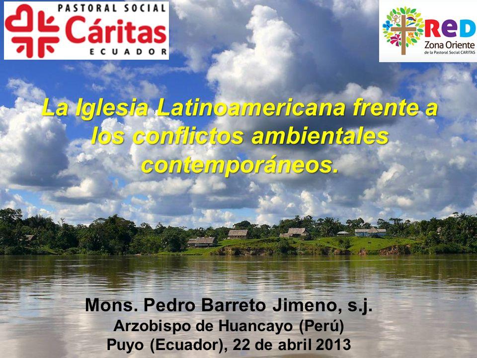 Necesitamos ordenar el territorio en el país para un uso sostenible de los recursos naturales.