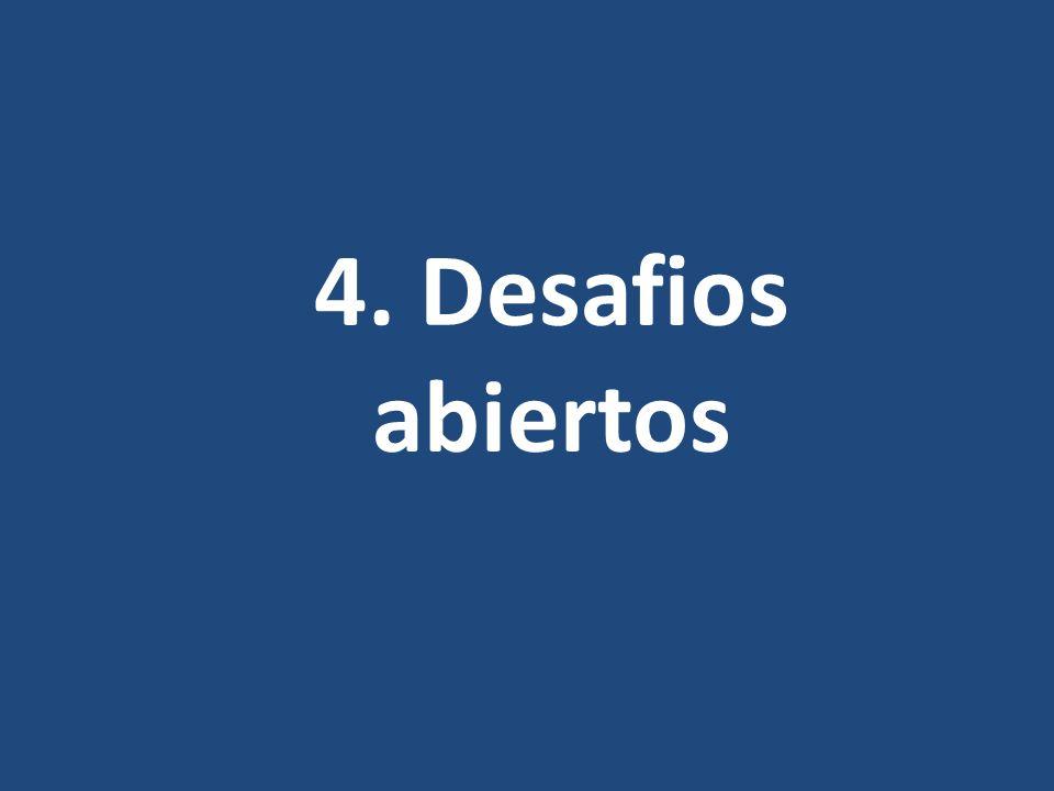 4. Desafios abiertos