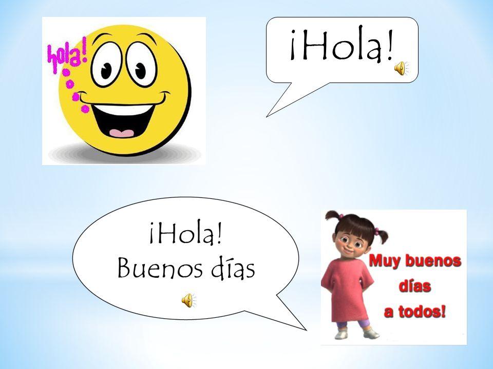 Los saludos en Español