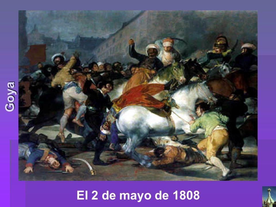 El 2 de mayo de 1808 Goya