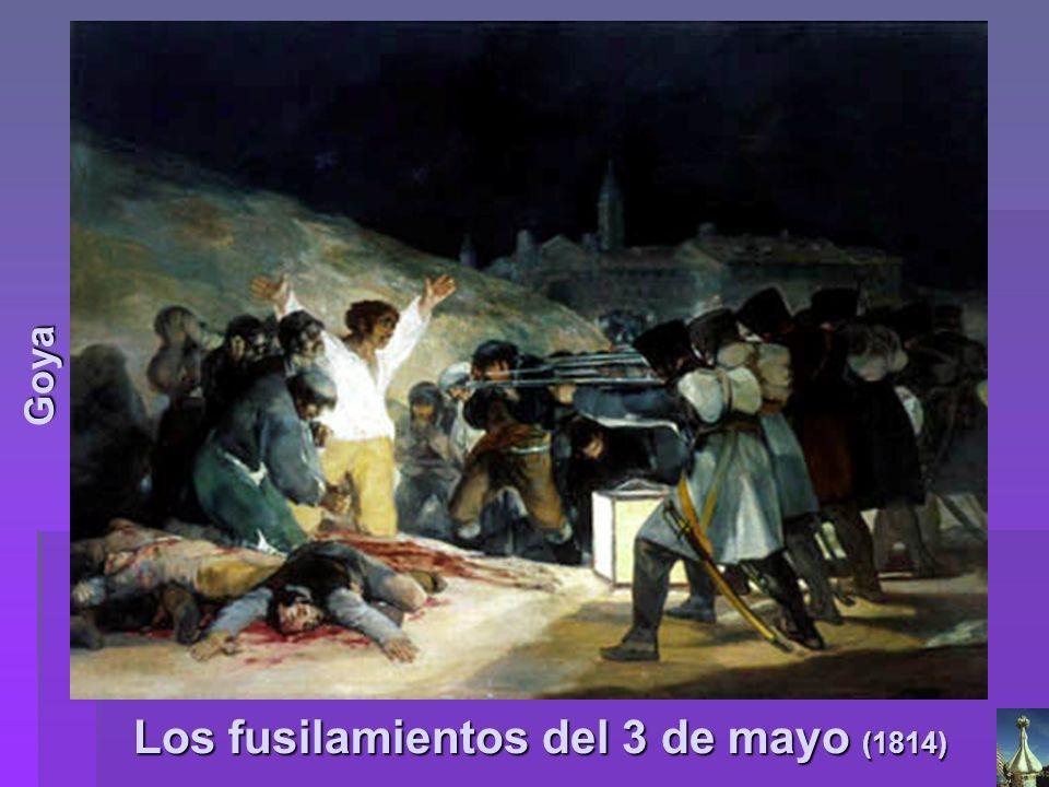 Los fusilamientos del 3 de mayo (1814) Goya