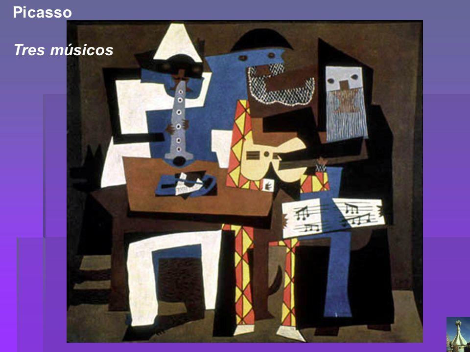 Picasso Tres músicos