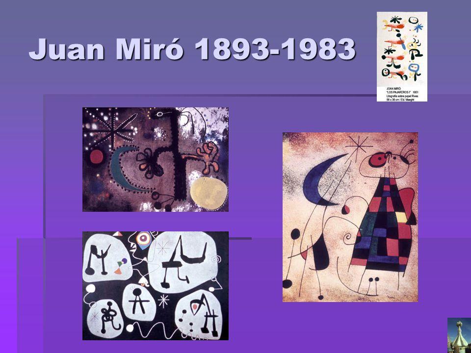Juan Miró 1893-1983