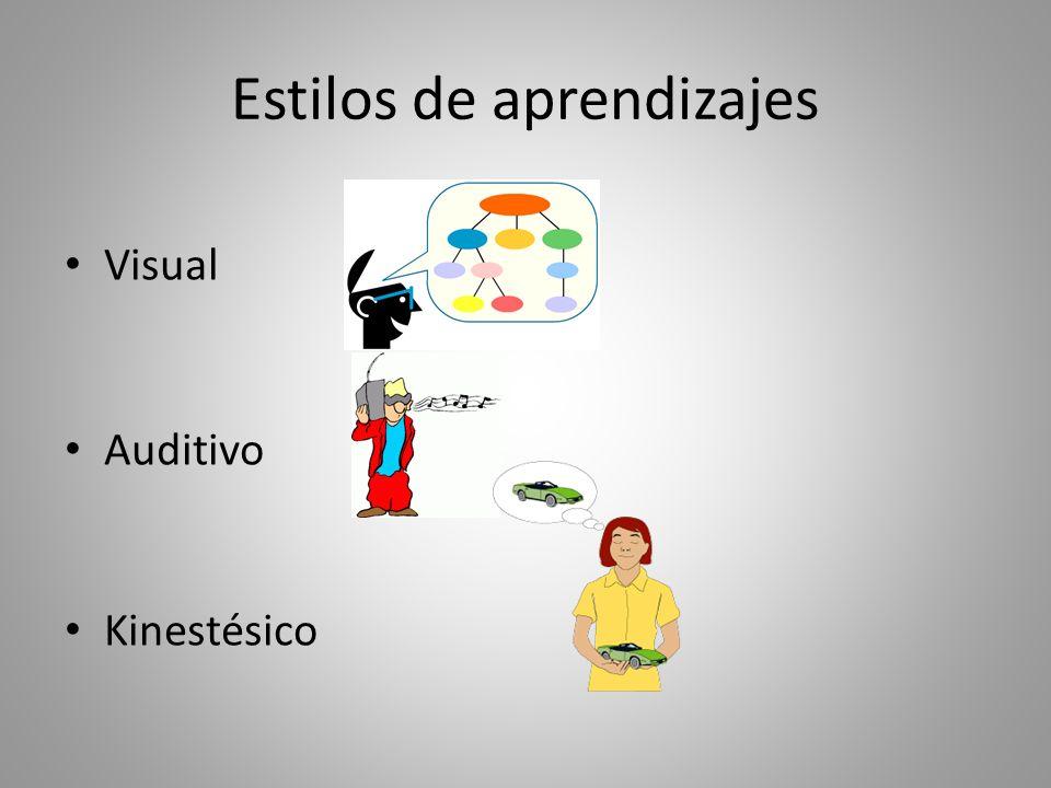 ¿Qué son los estilos de aprendizaje?