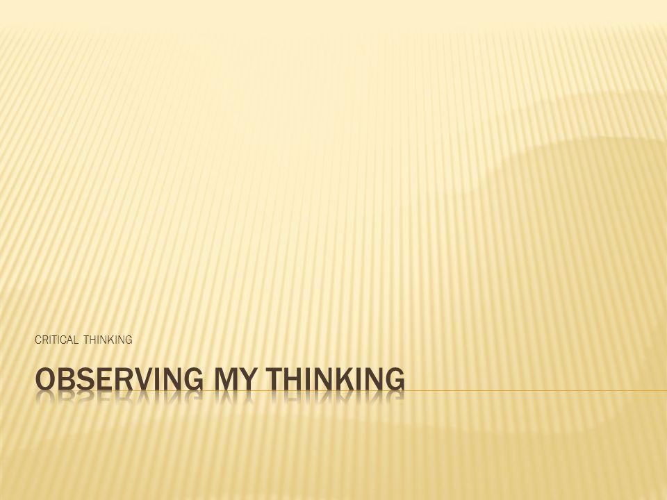 Una cosa es pensar Otra cosa es decir lo que pensamos Otra cosa es escribir lo que pensamos Otra cosa es empezar a trabajar en lo que pensamos, decimos o escribimos Y algo muy diferente es, terminar lo que empezamos.