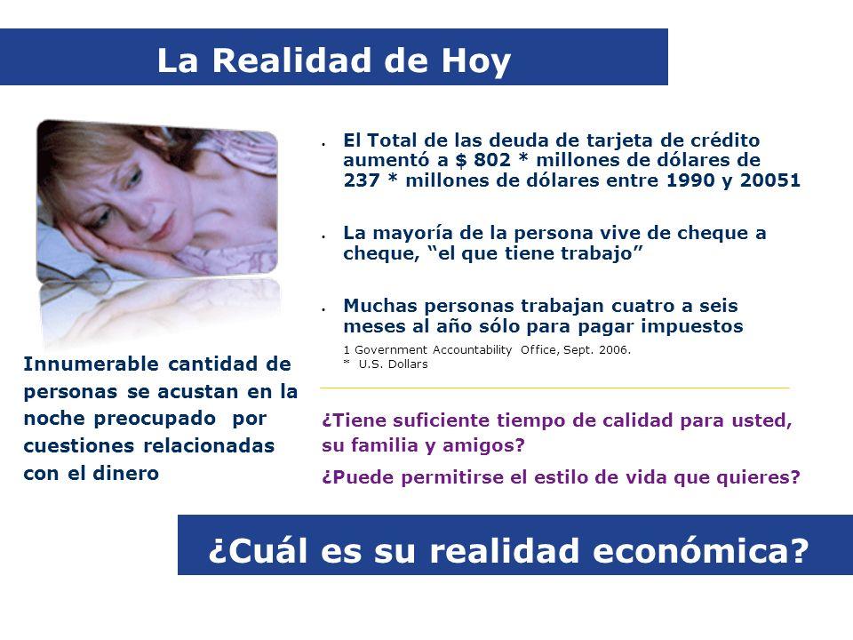 ¿Cuál es su realidad económica.