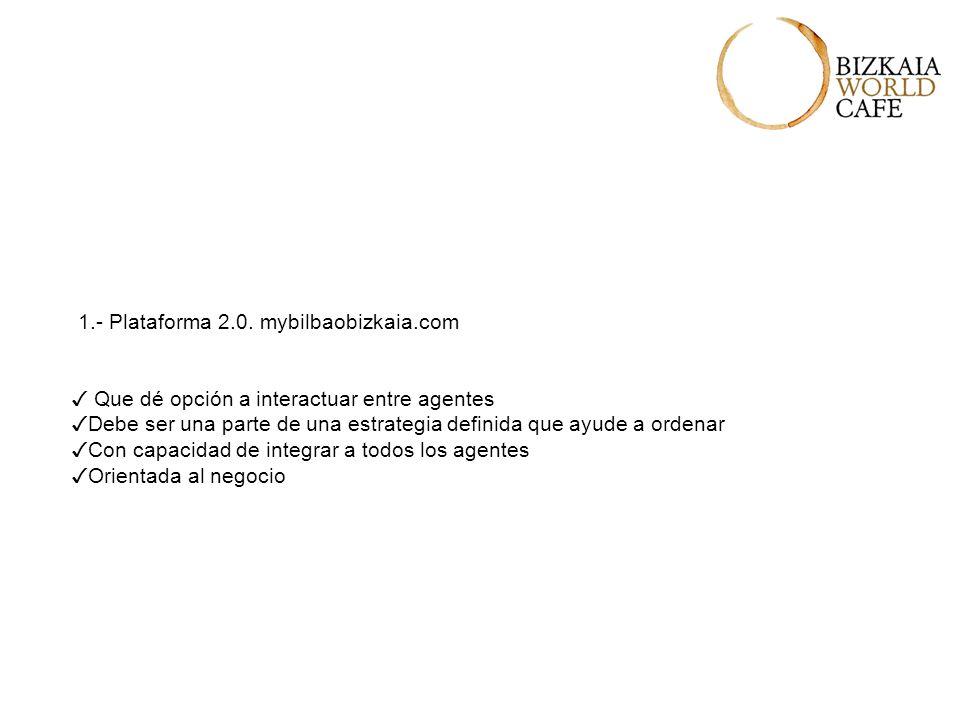 1.- Plataforma 2.0.
