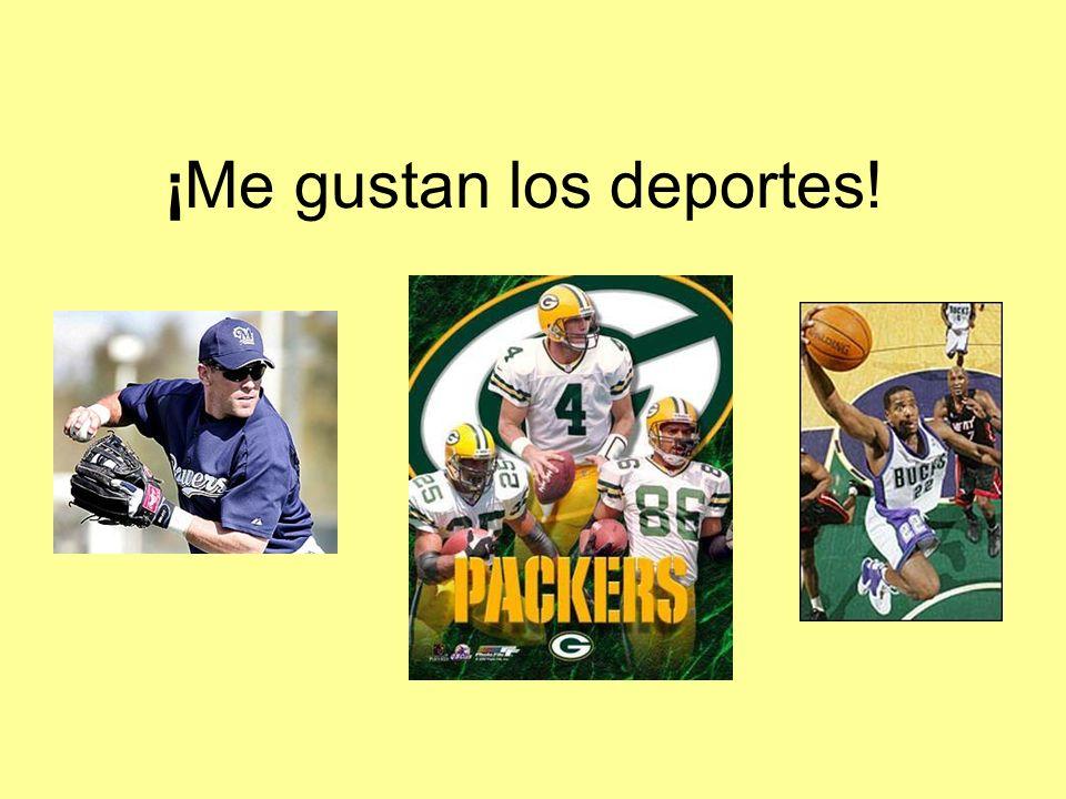 ¡Me gustan los deportes!