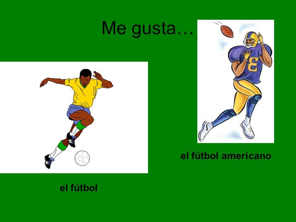 Me gusta… el fútbol el fútbol americano