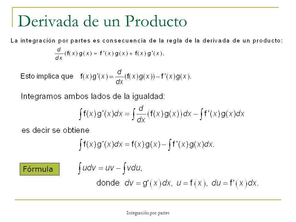 Derivada de un Producto Fórmula