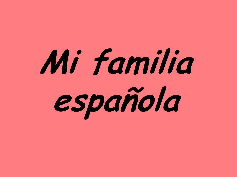 Mi familia española