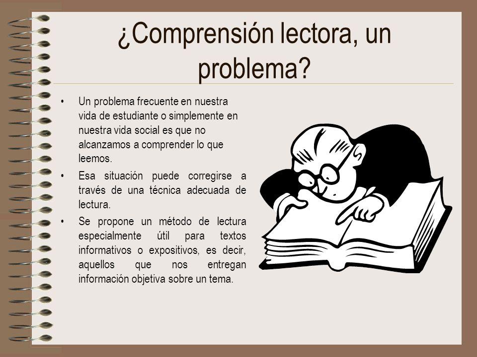 ¿Comprensión lectora, un problema? Un problema frecuente en nuestra vida de estudiante o simplemente en nuestra vida social es que no alcanzamos a com