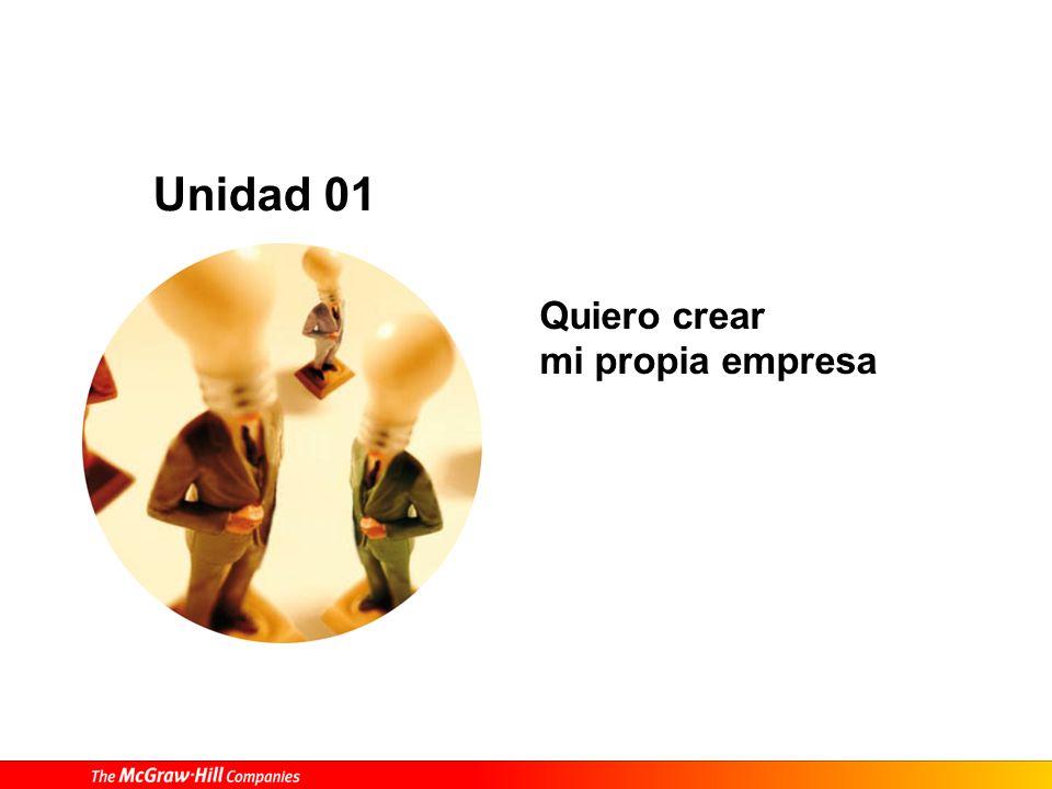 Quiero crear mi propia empresa Unidad 01