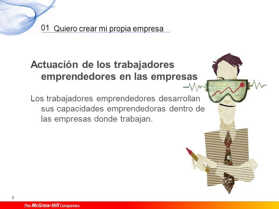 Quiero crear mi propia empresa 14 01 La idea: creatividad e innovación Innovación es la implantación de nuevas ideas.