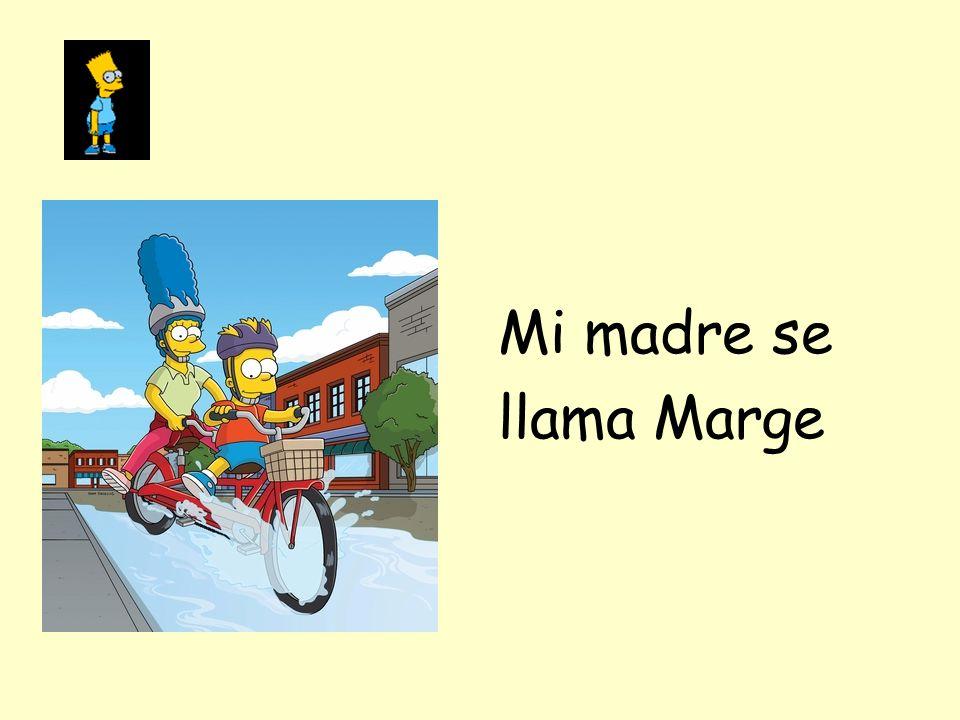 Mi madre se llama Marge