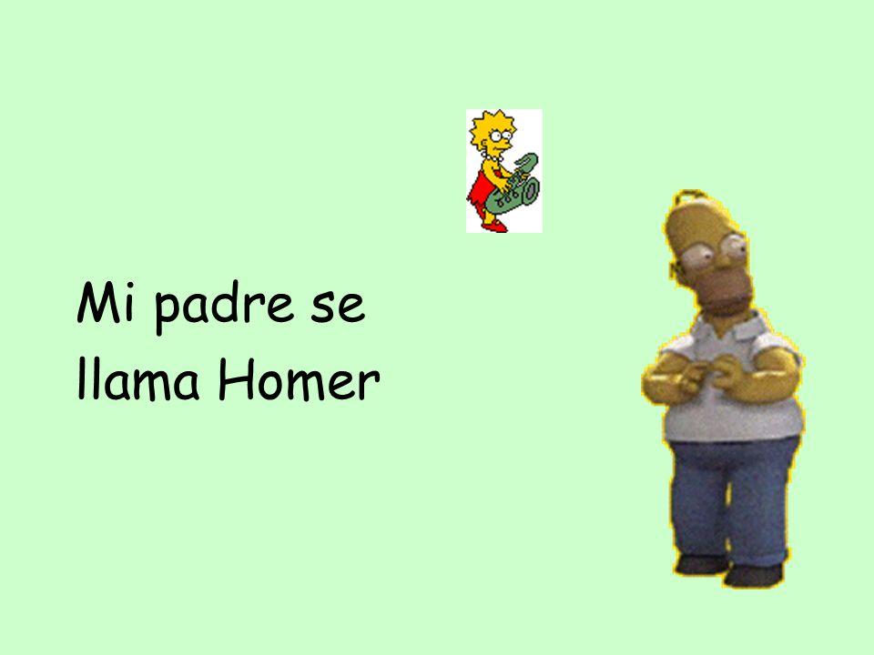 Mi padre se llama Homer