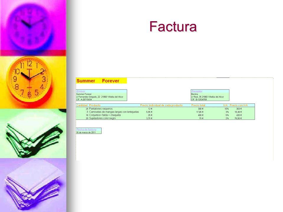 Factura Factura